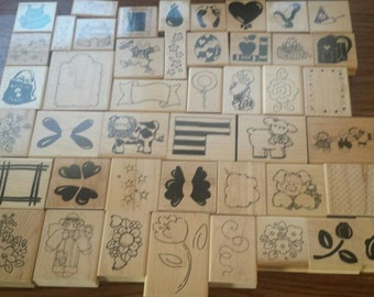 Close To My Heart 45 of all kids of rubber stamps