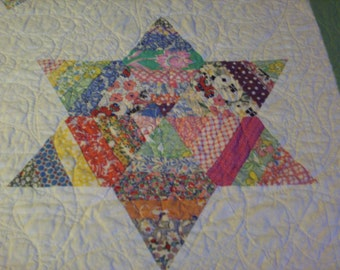 Vintage Reproduction Star Quilt