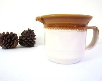 VINTAGE BENDIGO POTTERY jug - milk, gravy jug, creamer, Australian