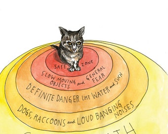SIGNED! How A Cat Sees The World