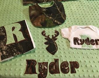 Camo Buck Gift Set
