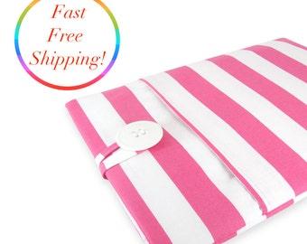 Pink Stripe iPad Pro Case, iPad Air 2 Case, iPad Pro 9.7 Case, iPad Air Case, iPad Air 2 Cover, iPad Case, iPad Pro Cover, iPad Air 2 Cover