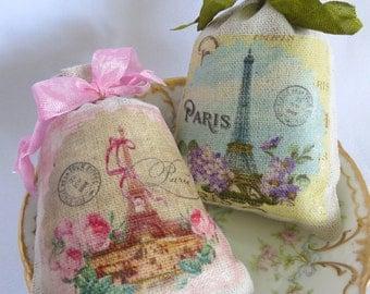 Lavender Sachet, French, Eiffel Tower