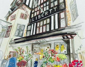 Liberty of London - ORIGINAL ARTWORK