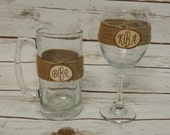 Rustic Wine and Beer, Wedding Wine Glass, Rustic Beer Mug, Rustic Wedding, Personalized Wedding Glasses, Rustic Wine, Custom Wedding Glasses