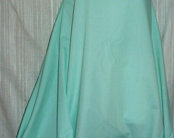 "Fabric Broadcloth Mint Green Cotton Medium Weight Fabric-60""W Sold by the Yard Ships Free"