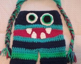 Crocheted Monster Set