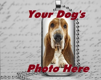 Your Dog on a Photo Pendant Ornament