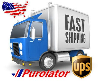 Fast shipping to USA - Upgrade Shipping United States - Carrier shipping - UPS shipping - Purolator shipping
