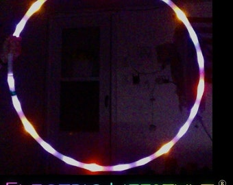 SALE price - Free Shipping - Strobing LED Hula Hoop - The Trance