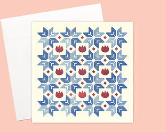 Morning Dusk Greeting card or greeting card set