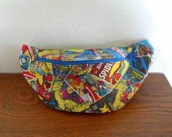 Marvel Comics Super Heroes Fanny Pack - Hip Bag - Children thru Adult Sizes