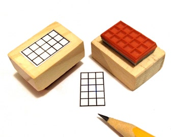 Bass and Ukulele Tab Rubber Stamp -    A great teacher and student aid. (Uke, Banjo, and Bass)