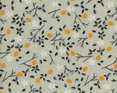 From Porto With Love - Lemon Trees in Mint - Sarah Watts for Cotton + Steel - 2037-02 - 1/2 Yard