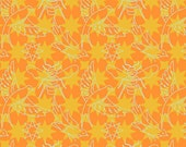 PRESALE - Seventy-Six - Stars and Traces in Orange - Alison Glass for Andover - A-8446-O - 1/2 yd