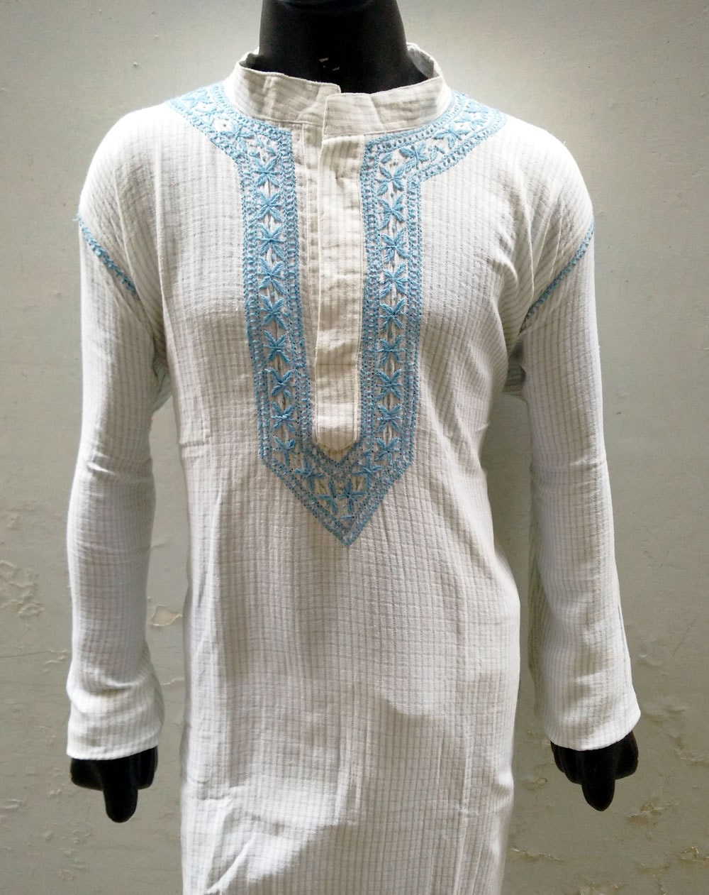 Mens embroidered shirt viking tunic unique gifts for men