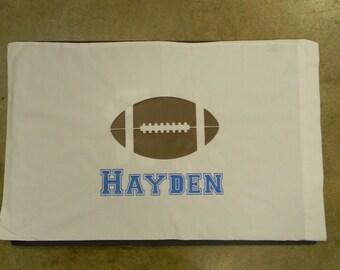 Personalize sports pillowcase