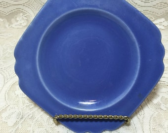"Homer Laughlin Fiesta Pottery Riviera 6.5""Light Blue Plates"