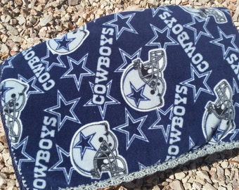 Dallas Cowboys Crocheted Fleece Blanket