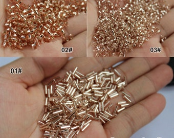 High Quality Bead, Bead Tube 6mm 2mm, 3mm Diameter -(10g in a set) (T263)