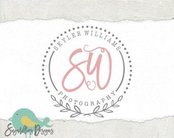 Photography Logos and Business Logos Circle Watermark 97