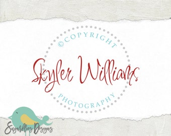 Photography Logos and Business Logos Circle Watermark 82