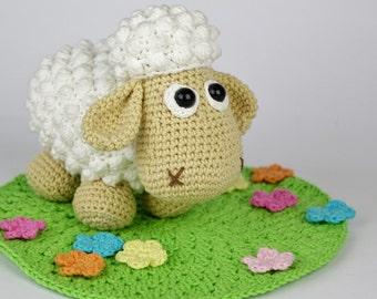 Little Lamb Lucky Crochet Pattern / Amigurumi / PDF e-Book / Tutorial
