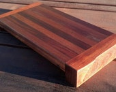 Cutting Board in Mesquite and Dark Mahogany