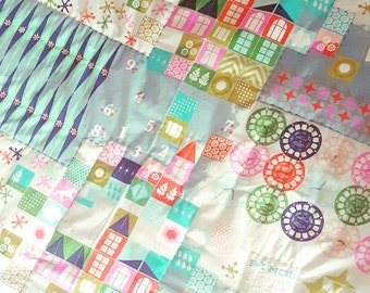 Baby Playmat - Tummy Time Mat - Toddler Quilt - Picnic Blanket - Baby Bedding