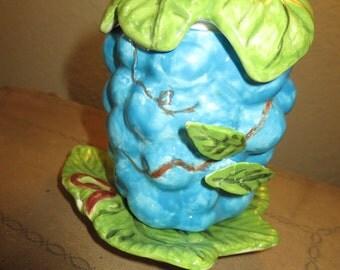 Hand Made Jam Jar Grapes
