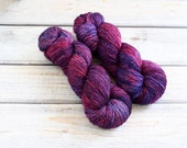 Merino Single in Bag of Juju by Skeinny Dipping Hand Dyed Fingering Weight Yarn