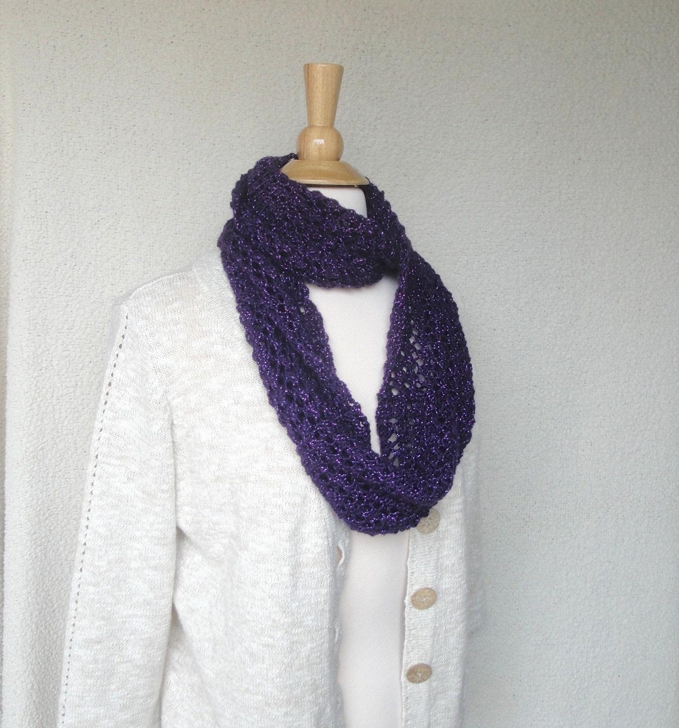 Mobius Scarf Knitting Pattern Infinity : Knit Infinity Scarf Eternity Scarf Mobius Scarf Teen Girls