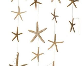 STARFISH, White Starfish Garland, Wedding Garland, PARTY Decor, Beach Wedding, Coastal Wedding, HOME Decor, Wedding Decor,