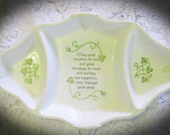 May Your Troubles Be Less And Your Blessings More Serving-Party Dish-House Warming Birthday Gift
