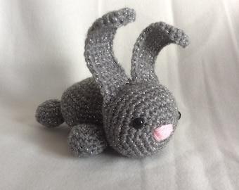 Crochet Bunny Rabbit Handmade Animal Wool Soft Toy Gift