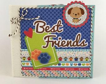 Dog Scrapbook Mini Album Kit or premade Puppy Pet