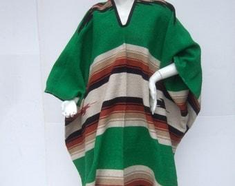 1970s Blanket Sarpe Poncho