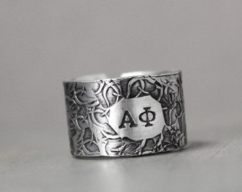 alpha phi ring sorority ring alpha phi jewelry