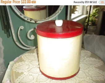 SUMMER SALE Vintage Tin,Vintage Kitchen Decor,Vintage Decor,Primitive Decor,French Country Decor,Country Decor,