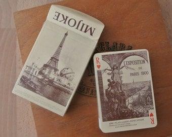 Vintage French Le Globe Celeste Mijoke Playing Card Deck Cartes Sealed Inner