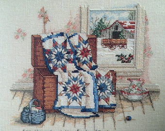 Inspired by Scripture  Part II by Paula Vaughan, Counted Cross Stitch Pattern Chart, Leisure Arts Leaftlet 2511