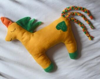 Sunny Unicorn pillow