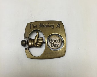I'm Having a Good Day/Bad Day brooch JJ