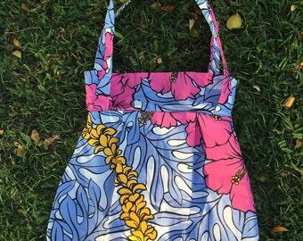 Hibiscus Purse