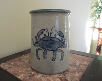 Summer sale 50% off Crab on a crock, arts and collectibles