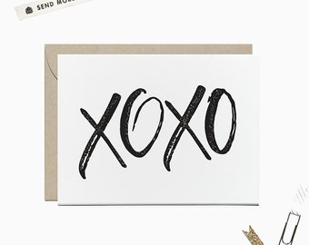 XOXO Folded Notes