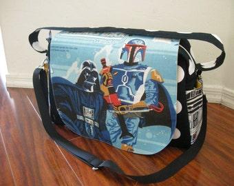 Star wars Diaper bag / shoulder and messenger bag