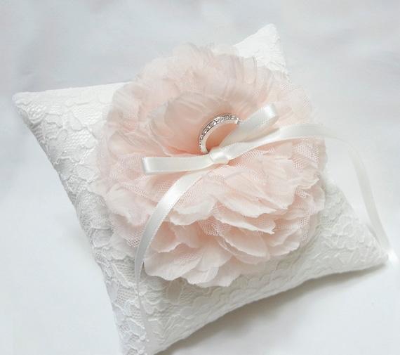 Blush Ring Pillow Ring Bearer Pillow Wedding Ring By