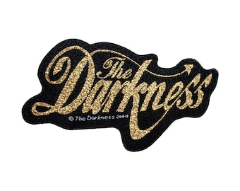 The Darkness English Glam Metal Rock Band Music Woven Sew On Applique Patch