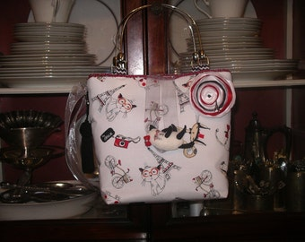 Cats in Paris Handbag